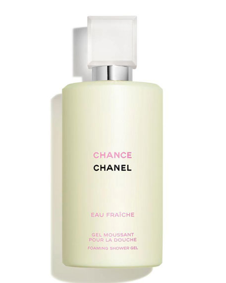 <b>CHANCE EAU FRAÎCHE</b><br> Foaming Shower Gel 6.8 oz.