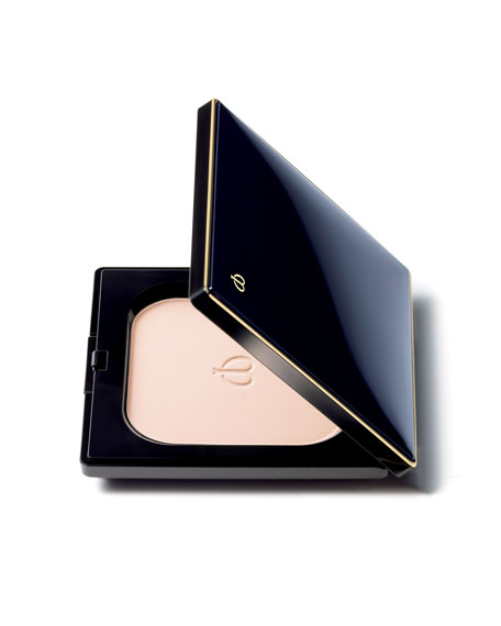 Cle de Peau Beaute Refining Pressed Powder with Case, Refill & Puff