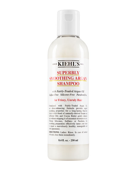 Superbly Smoothing Argan Shampoo, 8.4 oz.