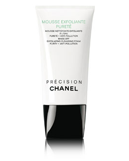 CHANEL MOUSSE EXFOLIANTE PURETÉ <br>Rinse-Off Exfoliating Cleansing Foam Purity + Anti-Pollution 5 oz.