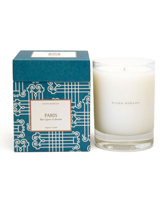 Paris Blue Cypress & Absinthe Candle