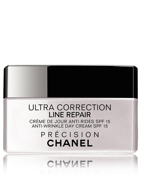 chanel ultra correction line repair anti wrinkle cream spf 15 neiman marcus. Black Bedroom Furniture Sets. Home Design Ideas