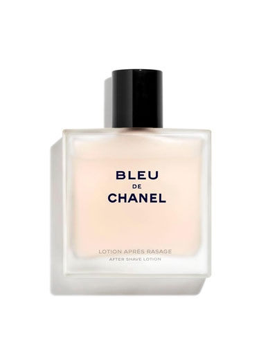 <b>BLEU DE CHANEL </b><br> After Shave Lotion 3.4 oz.