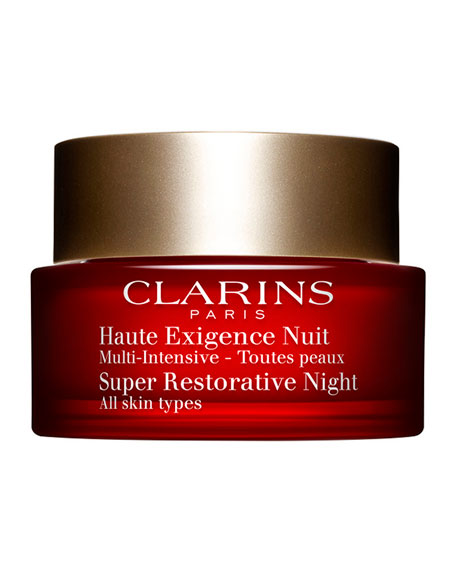 Clarins Super Restorative Night Cream, 1.6 oz./ 50