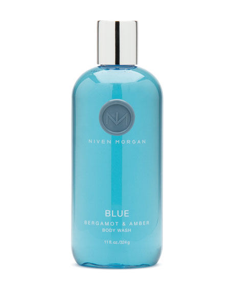 Niven Morgan Blue Body Wash, 11 oz.