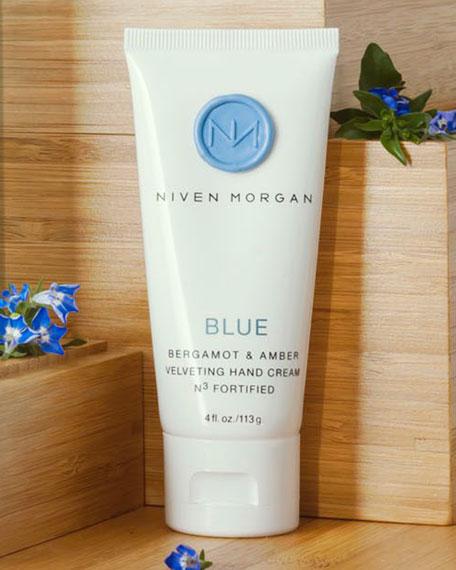 Niven Morgan Blue Hand Cream, 4.0 oz.