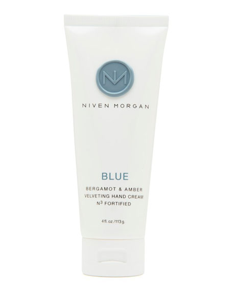 Niven Morgan Blue Hand Cream, 4.0 oz.