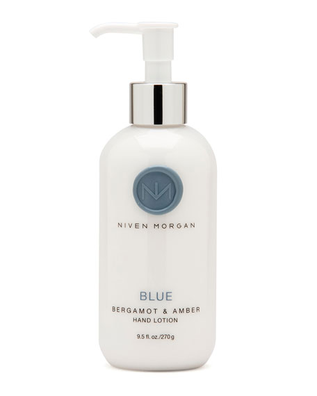 Niven Morgan Blue Hand Lotion, 9.5 oz.