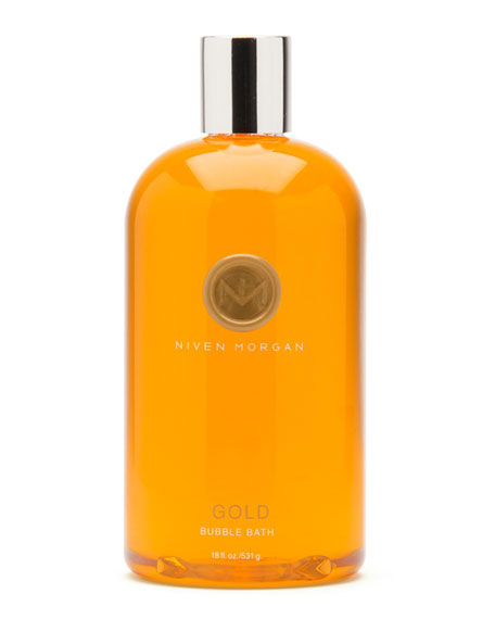 Niven Morgan Gold Bubble Bath, 18 oz.