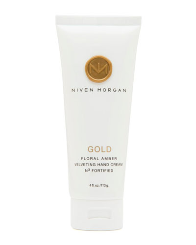 Niven Morgan Gold Hand Cream, 4.0 oz.