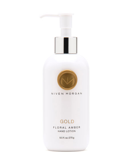 Niven Morgan Gold Hand Lotion, 9.5 oz.