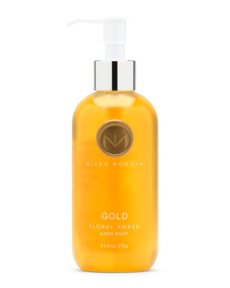 Niven Morgan Gold Hand Soap, 9.5 fl. oz.