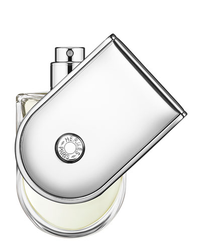 Voyage d'Hermès – Eau de toilette refillable natural spray, 3.3 oz