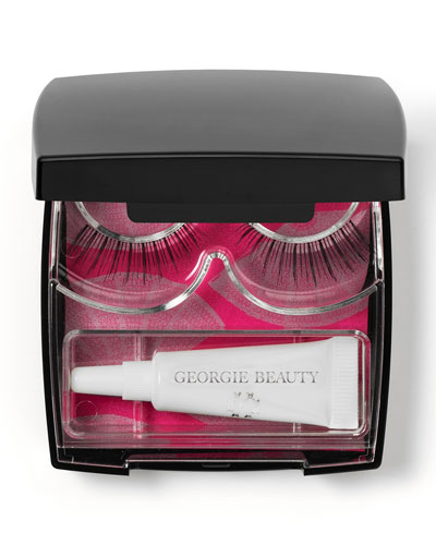 Georgie Beauty Georgie La Chérie Faux Lash Compact, 0.12 fl. oz.