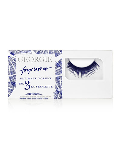Georgie La Starlette Faux Lashes