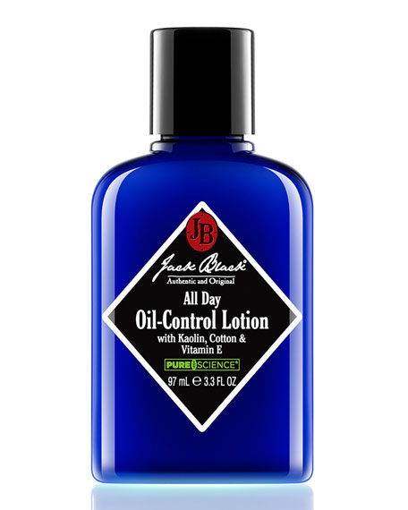 Jack Black All Day Oil-Control Lotion, 3.3 oz.