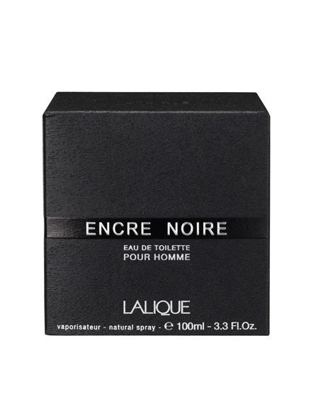 Lalique Encre Noire Pour Homme Eau de Toilette, 3.3 oz./ 100 mL