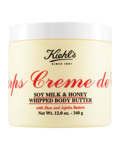 Crème de Corps Soy Milk & Honey Whipped Body Butter, 12.0 oz.