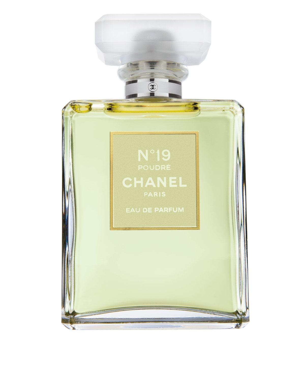 CHANEL N°19 POUDRÉ Eau de Parfum Spray, 100 mL  3.4 oz.   Neiman Marcus 2b4e57be70fb