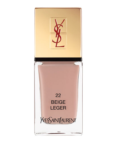Yves Saint Laurent Beaute La Laque No22 Beige Leger <b>NM Beauty Award Winner 2014</b>