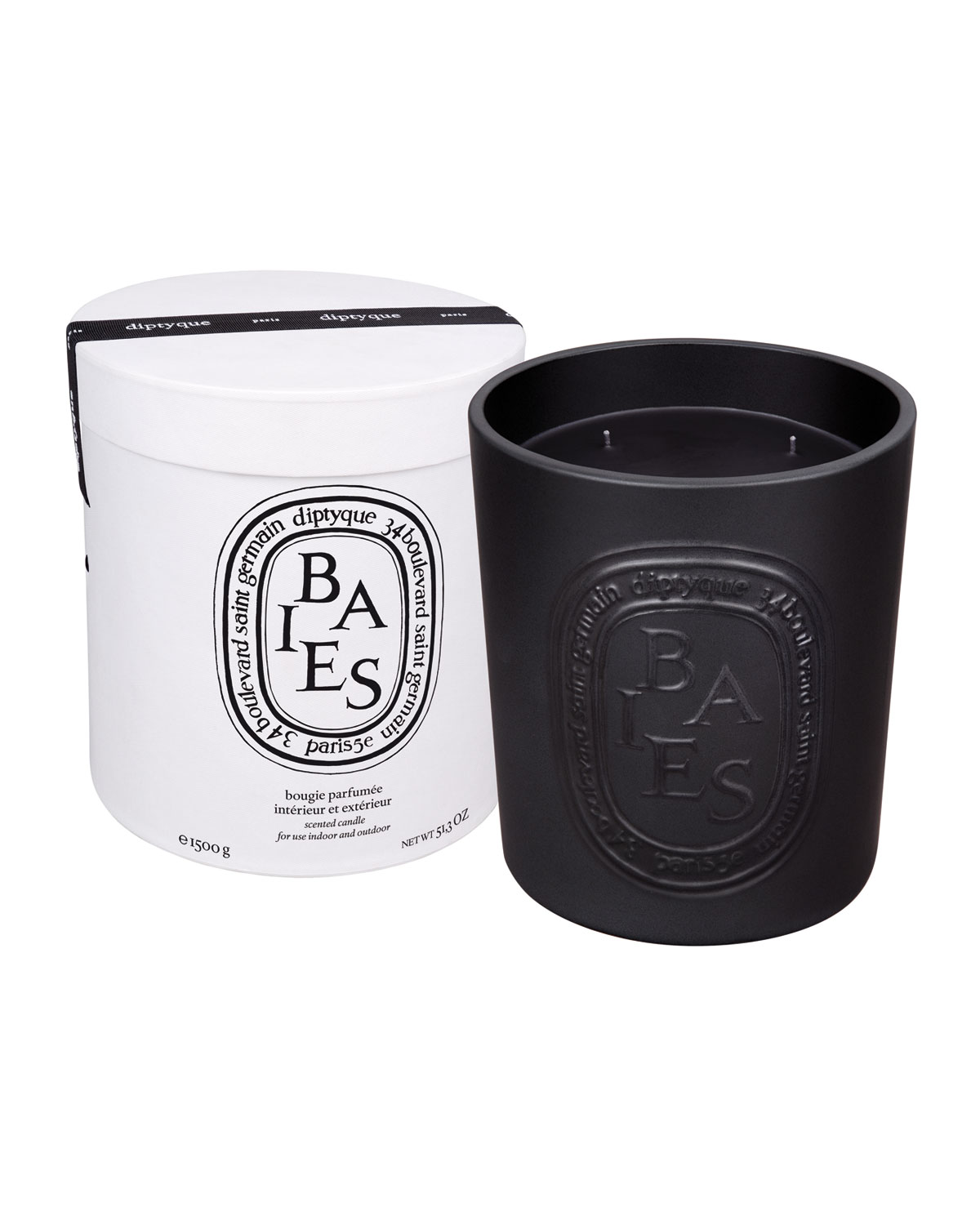 Diptyque Ceramic Baies Scented Candle