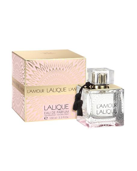 L'Amour Lalique Eau de Parfum, 3.4 oz./ 100 mL.
