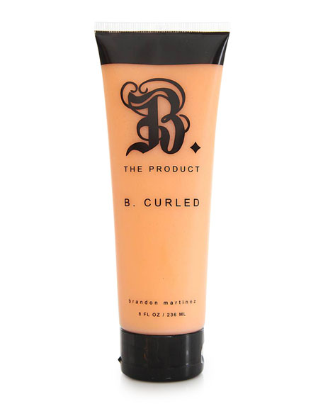 B. Curled with Argan Oil, 8oz