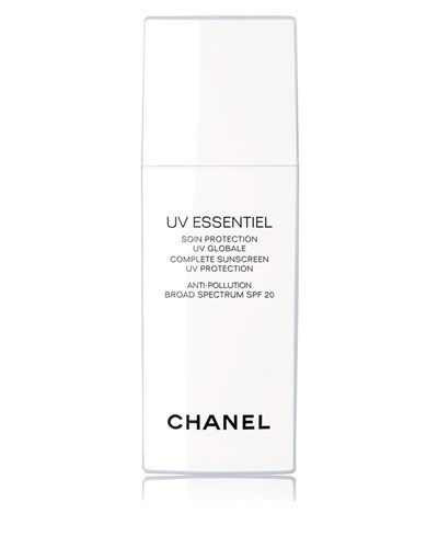 CHANEL <b>UV ESSENTIEL</b> <br>Complete Sunscreen UV Protection Anti-Pollution Broad Spectrum SPF 20