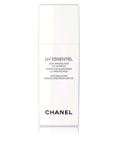 CHANEL <b>UV ESSENTIEL</b> <br>Complete Sunscreen UV Protection Anti-Pollution Broad Spectrum SPF 50