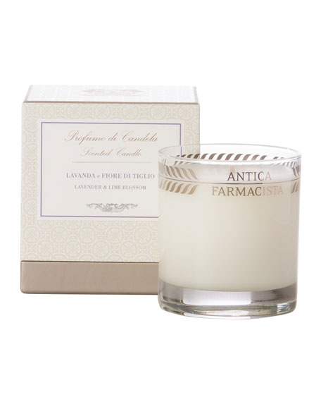 Antica Farmacista Lavender & Lime Blossom Scented Candle,