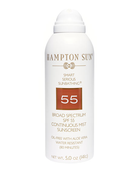 SPF 55 Continuous Mist, 5 oz./ 148 mL