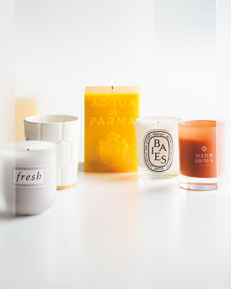 Yellow Cube Candle, Colonia