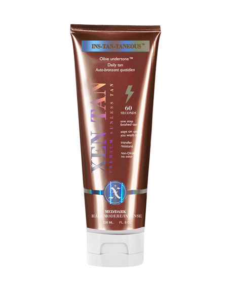 INS-TAN-TANEOUS Premium Daily Sunless Tan, Olive Undertone