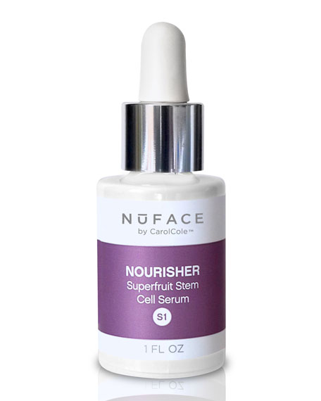 NuFace S1 Nourisher Superfruit Stem Cell Serum, 1oz
