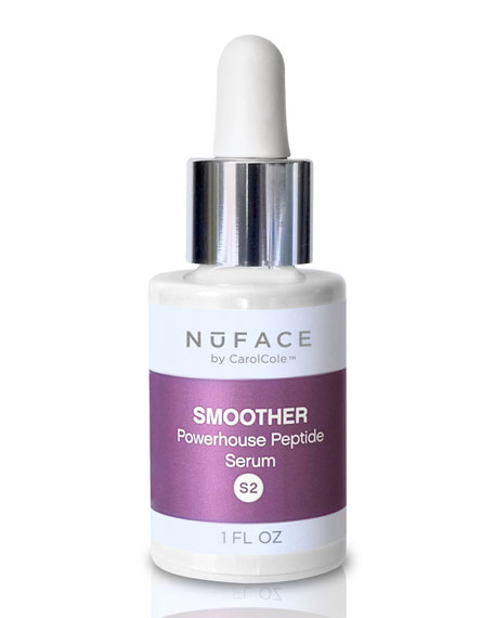 NuFace S2 Smoother Powerhouse Peptide Serum, 1oz