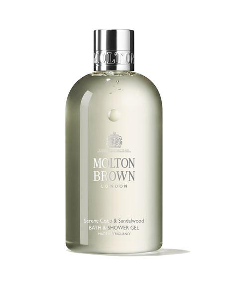 Coco & Sandalwood Bath and Shower Gel, 10 oz./ 300 mL