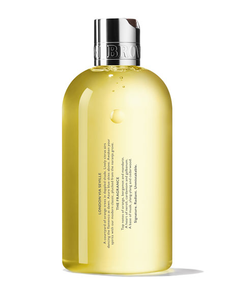 Molton Brown Orange & Bergamot Bath and Shower Gel, 10 oz./ 30 mL