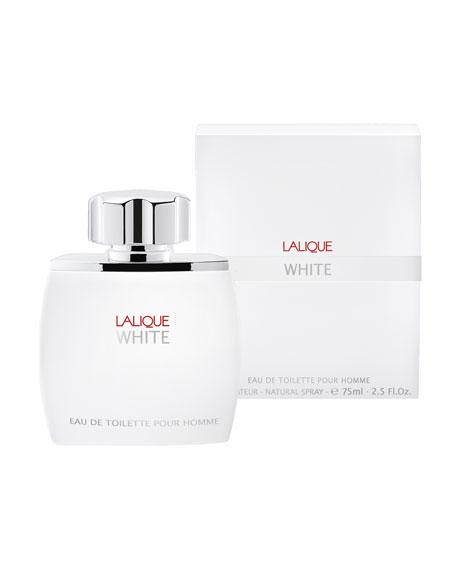 Lalique Lalique White Eau De Toilette Pour Homme, 2.5 oz./ 75 mL