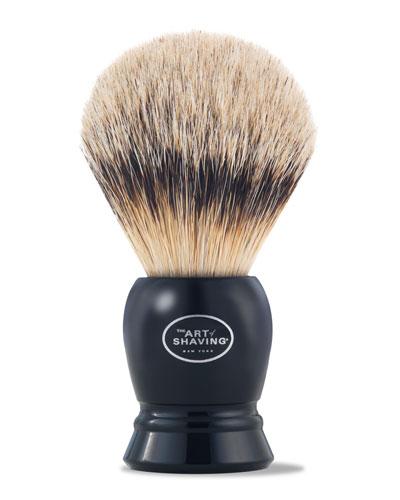 Fine Badger Hair Brush  Black