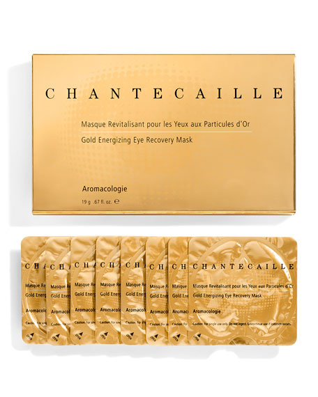 Chantecaille Gold Energizing Eye Recovery Mask, 8 ct.