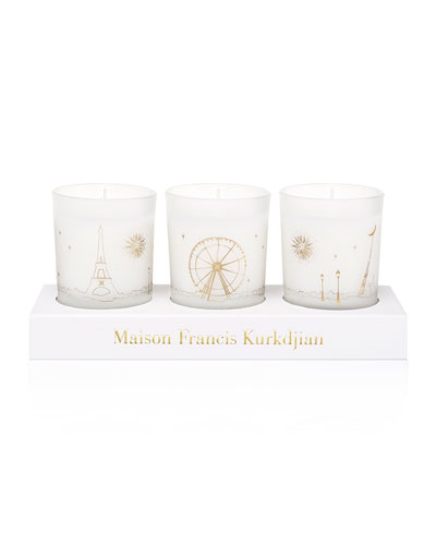 Three Scented Candles Set  70 g each