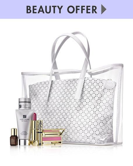 Yours with any Estee Lauder Purchase of $75 or More