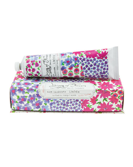 Library of Flowers Linden Coco Butter Handcreme