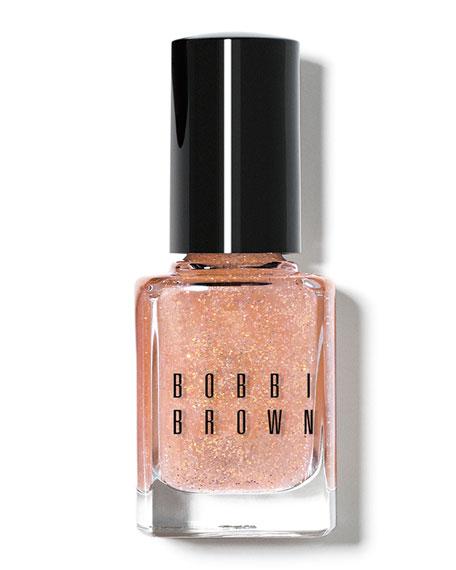 Limited Edition Glitter Nail Polish - Bare Peach