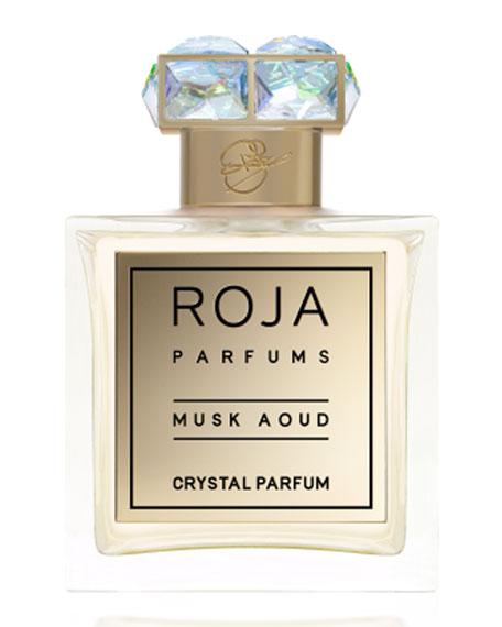 Musk Aoud Crystal Parfum, 3.4 oz./ 100 mL