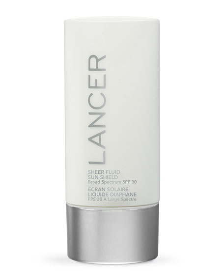 Lancer Sheer Fluid Sun Shield SPF 30 Sunscreen,
