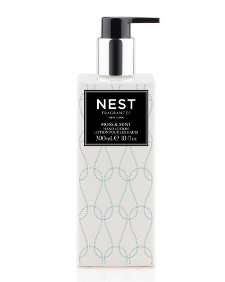 Nest Fragrances Moss & Mint Hand Lotion and