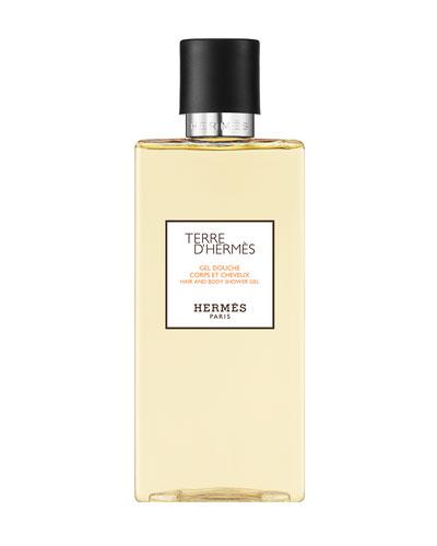 Terre d'Hermès Hair and Body Shower Gel, 6.7 oz.