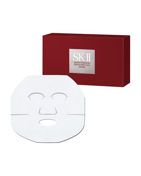 Brightening Derm-Revival Mask, 10 Sheets