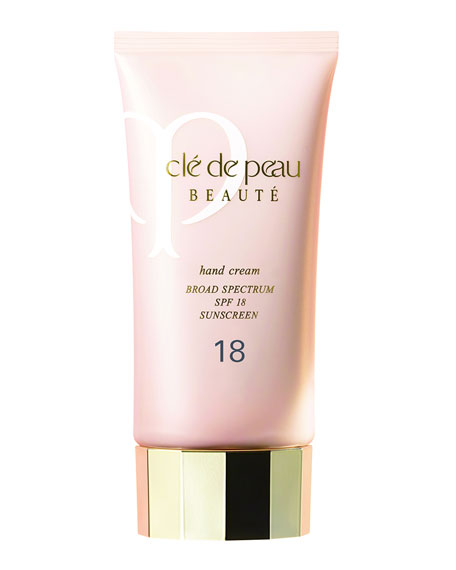 Cle De Peau HAND CREAM, SPF 18, 2.54 OZ.